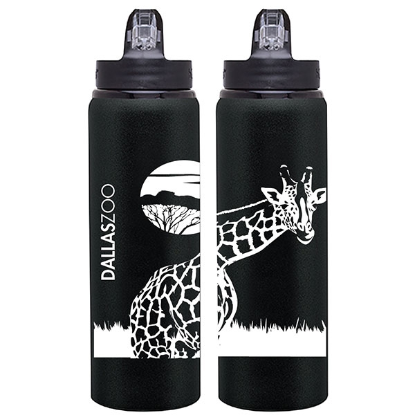 BOTTLE ALLURE GIRAFFE