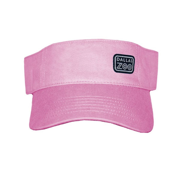 VISOR LOGO PATCH PINK