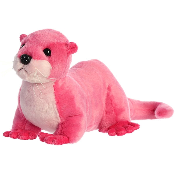 RIVER OTTER PLUSH - PINK