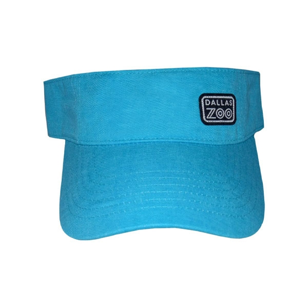VISOR LOGO PATCH TURQUOISE