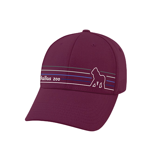 BASEBALL HAT GORILLA STRIPES