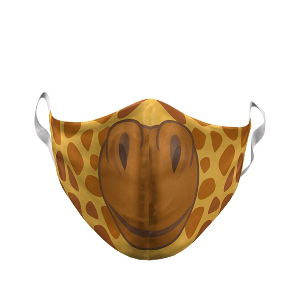 YOUTH CARTOON GIRAFFE FACE MASK