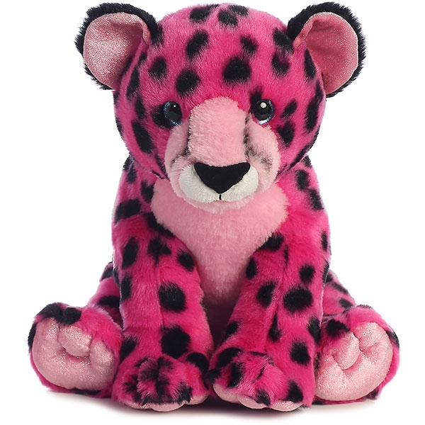 CHEETAH PLUSH - PINK