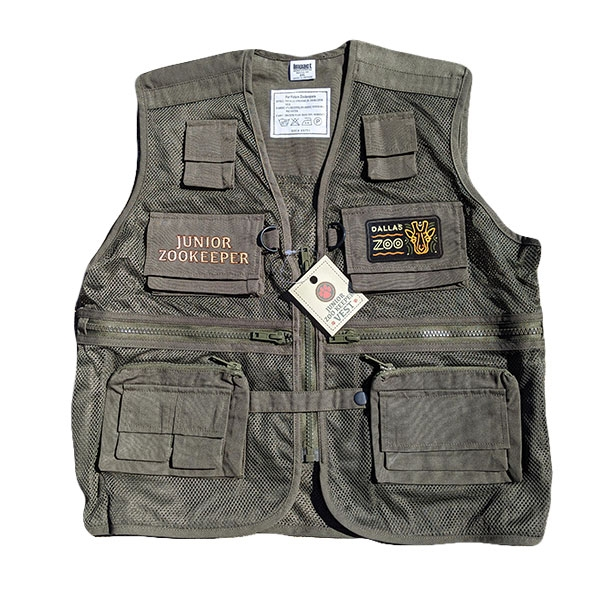 YOUTH ZOOKEEPER VEST OLIVE GREEN